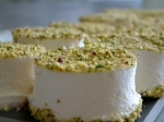 orange blossom and pistachio marshmallow